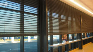 Clear view Roller Shutters