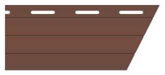brown shutter