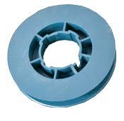 Pulley Tape PVC 120 mm Blue