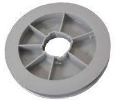 Pulley Tape PVC 170mm Grey