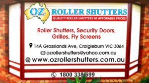 Oz Roller Shutter