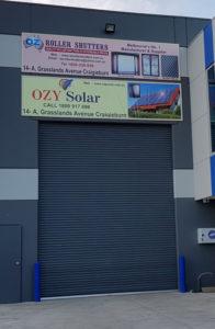 Oz Roller Shutters Factory