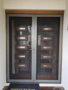 Stainless Steel Mesh Door