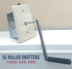 manual roller shutters